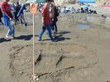 2012 Sand Sculpture Contest: Children's Individual Entry #06: The Fearsome Shark, by Logan