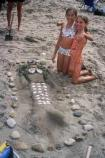 2003 Sand Sculpture Contest: Children's 2nd Place: Entry #24 Crystal, by Raelynn and Rachel
