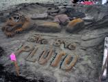 2006 Sand Sculpture Contest: Adults' Group Honorable Mention: Entry 14 Bye Bye Pluto by The Roseville Crew