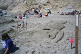 2004 Sand Sculpture Contest: Adults' Group Entry #13: Trilobite Me, by Sheri Arjo