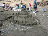 2008 Sand Sculpture Contest: Adult/Family Group Entry #17: Castle of the Moment, by the Sheff Mitchell Family