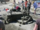 2010 Sand Sculpture Contest: Adult/Family Group 2nd Place Winner: Entry #05: A Castle, by Richard Whitley