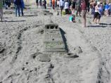 2010 Sand Sculpture Contest: Adult/Family Group Entry #35: Stranded, by Jobi George