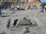 2010 Sand Sculpture Contest: Adult/Family Group Entry #47: Pyramid, by the Tristan Family
