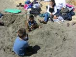 2010 Sand Sculpture Contest: Children's Group Entry #05: Untitled sculpture, by Rico Family