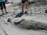 2010 Sand Sculpture Contest: Children's Group Entry #07: Mermaid, by Shaders