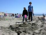 2010 Sand Sculpture Contest: Children's Group Entry #13: Castle, by the Osborns
