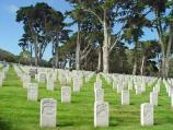 Photograph of the San Francisco National Cemetery at the Presidio.
