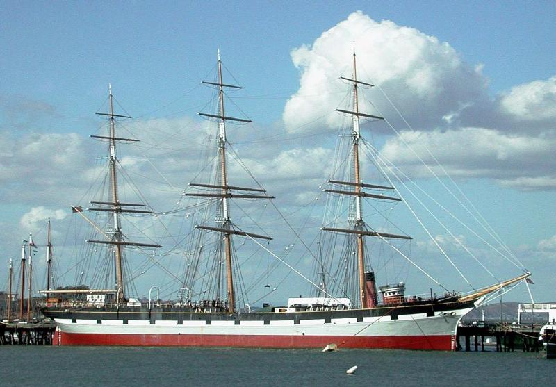 BALCLUTHA at Hyde St. Pier