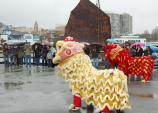 2011: Chinese New Year celebration on Hyde Street Pier