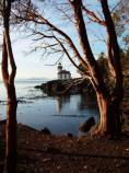 The Limekiln Point lighthouse at Limekiln Point State Park is a popular stopping place on a typical drive around the island. It is the best place to view killer whales on San Juan Island.
