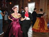 Tim Knapp and Anne Lorgen take a turn around the floor duirng the Candlelight Ball at Encampment 2013
