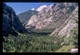 Hiking in the wilderness of Kings Canyon National Park offers spectacular views