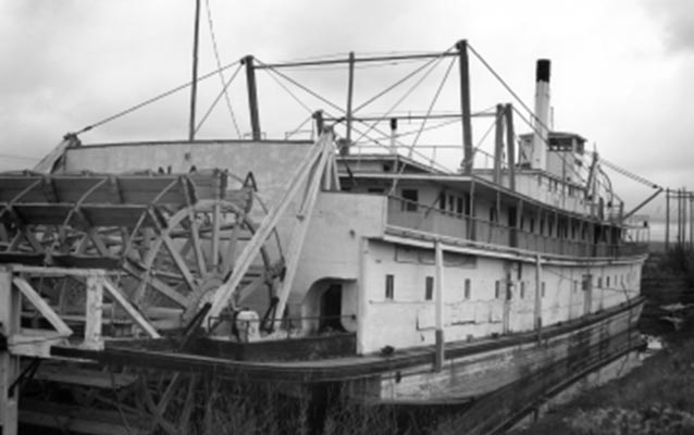 The Nenana Steamboat