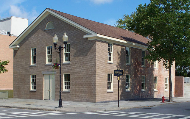 Wesleyan Chapel at Women's Rights National Historic Park