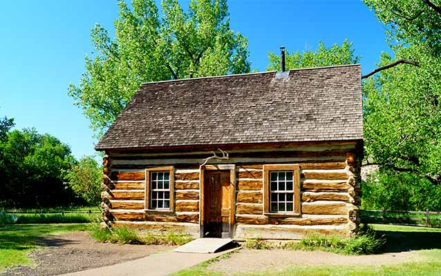 Theodore Roosevelt's Log Cabin