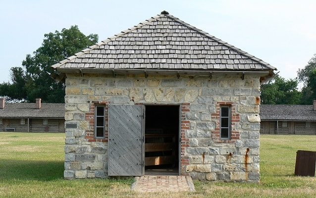 powder magazine at fort atkinson in nebraska