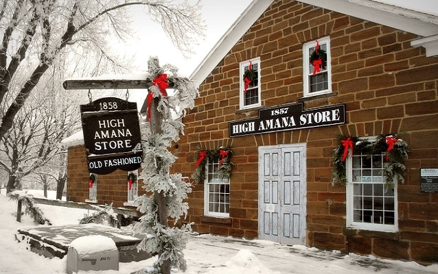 exterior of the high amana store in High Amana
