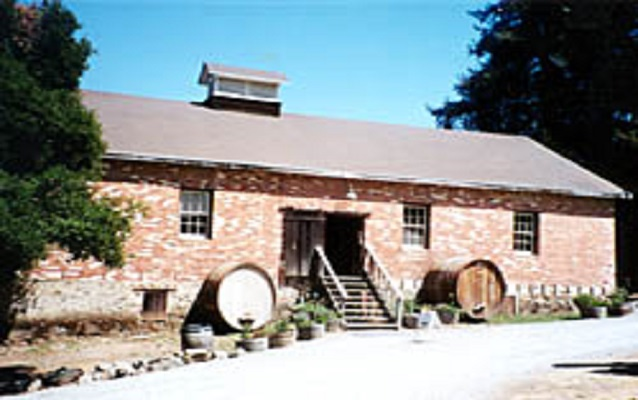 Original Picchetti Brothers Winery building