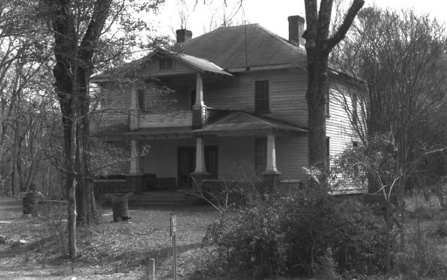 Photo of the two-story Sarah Trott McKinney House with hipped roof. Courtesy NPS.