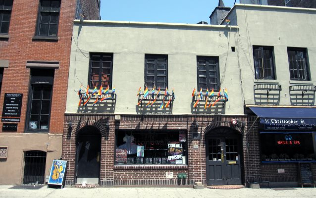 Today's Stonewall Inn. In 1969, the Stonewall Inn included both 51 and 53 Christopher Street.