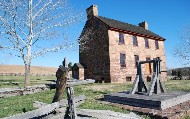 Photo of the Stone House at Manassas National Battlefield Park