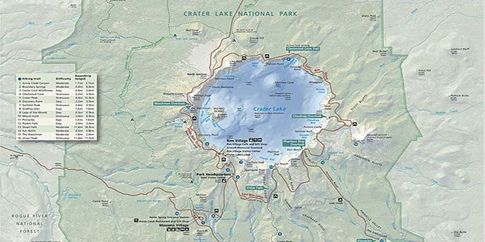 Crater Lake Oregon Google Earth Community Forums
