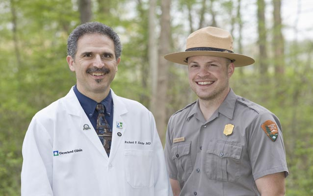 Cleveland Clinic partners with CVNP for healthy improvement.