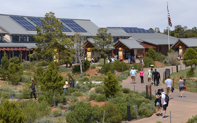 Photovoltaic systems installed on Grand Canyon Visitor Center