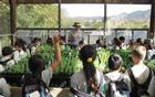 Students from local schools learn what it takes to run a native plant nursery in the Santa Monica Mountains.