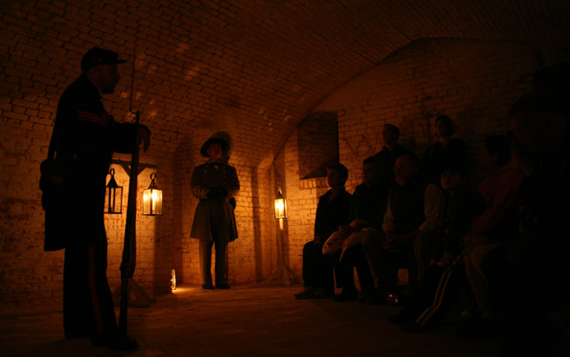 Candlelight Tour of Fort Barrancas