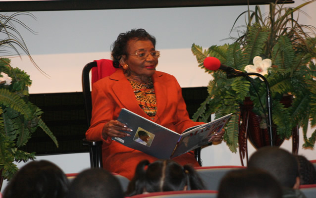 Dr. Christine King Farris, the Sister of Rev. Dr. Martin Luther King, Jr.