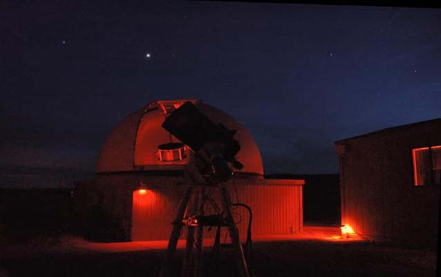Chaco Observatory and telescope