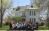 Area fourth grade students recently celebrated the second year of a five year Adopt-a-Class partnership with Harry S Truman National Historic Site.