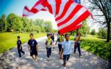 New Star-Spangled Banner Trail Stewards take the flag to Patterson Park in Baltimore City