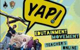 Cover page of YAP!'s Teacher's Online Resource Guide