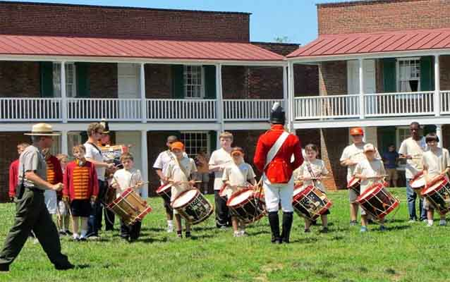 FORT McHENRY FIFE & DRUM CAMP RECRUITS YOUTH FOR HISTORY!