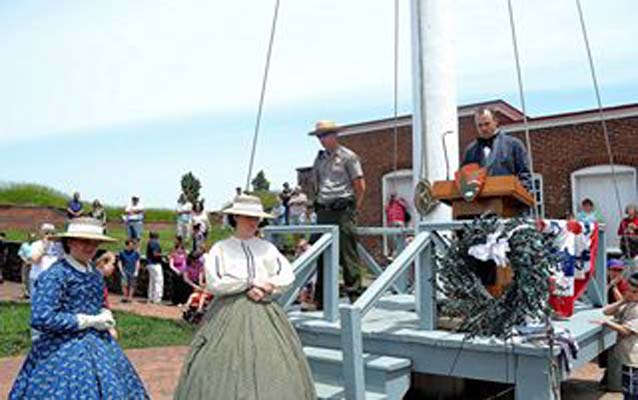 Fort McHenry Honors The Fallen Memorial Day