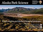 Alaska Park Science Volume 12 Issue 1 cover photo
