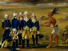 Painting of the Treaty of Greenville, 1795