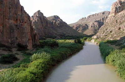 Climate change may have direct & indirect effects on streamflow & water quality in the Rio Grande.