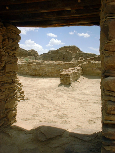 Settled village life is also characteristic of the Southwest, versus the true cities of Mesoamerica.