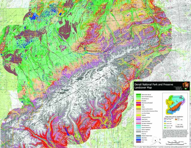 Ecological Goldmine: The Denali Landcover Map and Denali Soil ... on