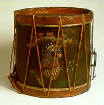 1812 Drum from Battle of New Orleans