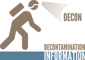 decontamination information logo