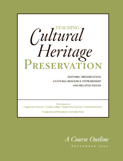 Teaching Cultural Heritage Preservation