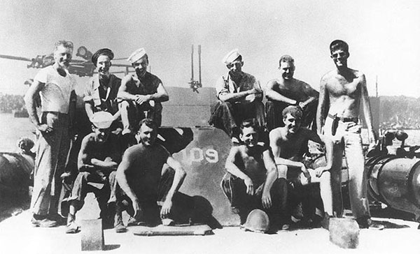 Lieutenant John F. Kennedy and Crew of PT-109