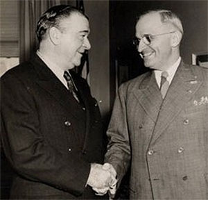 Harry Truman and Andrew Higgins