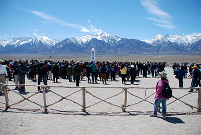 The annual Manzanar Pilgrimage began in 1969