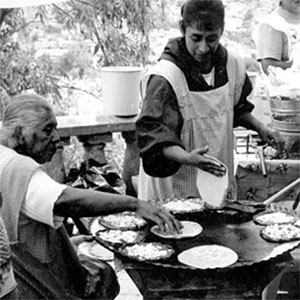 Traditional tortilla making, Creative Commons by Carolyn Williams